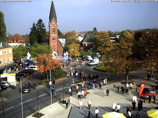 Webcambild vom Rathausplatz