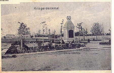 Kriegerdenkmal 1927