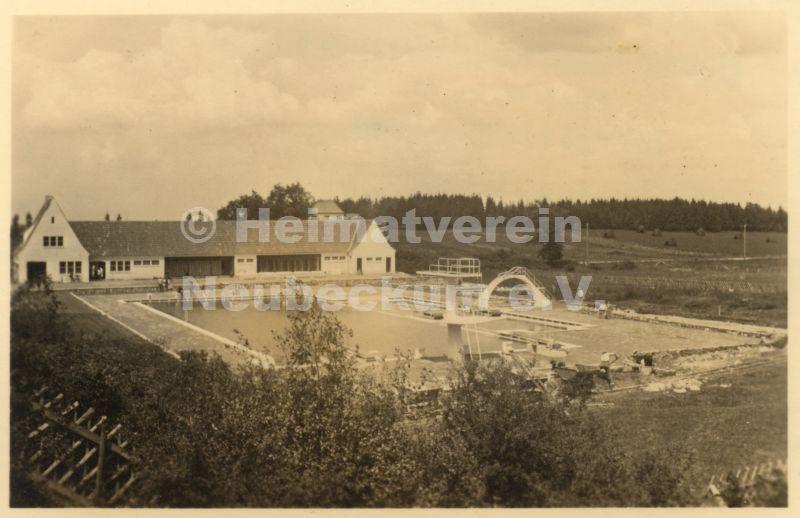 Freibadbau 1939