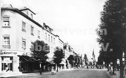 Hauptstraße Mitte 1950