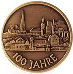 Medaille 100 Jahre Neubeckum - Vorderseite
