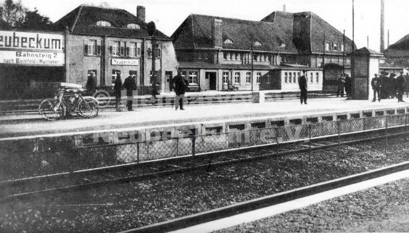 Bahnhof 1916 1925