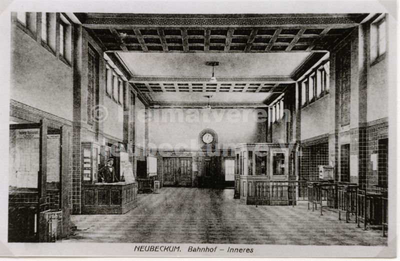 Bahnhof Innenansicht1916