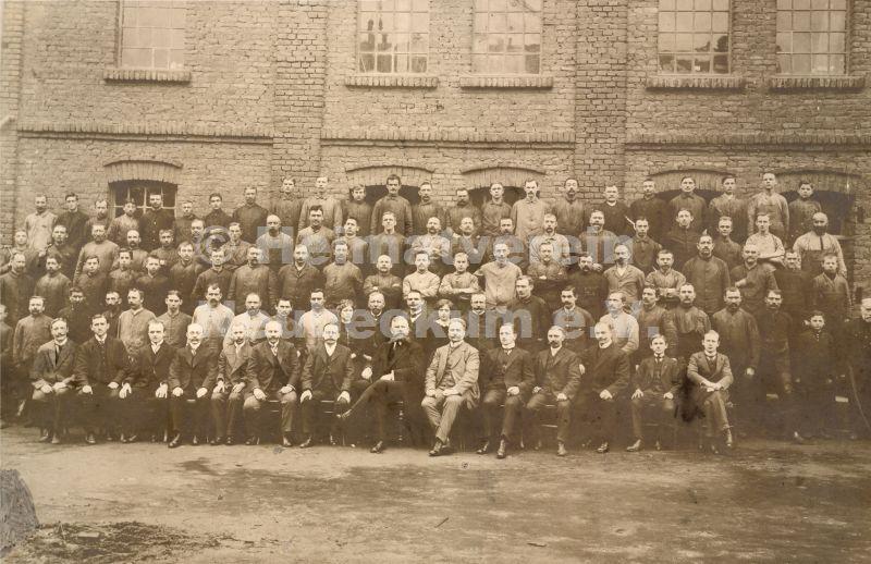 Balcke Belegschaft 1912