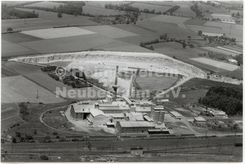 Luftaufnahme  Anna-Zement 1960