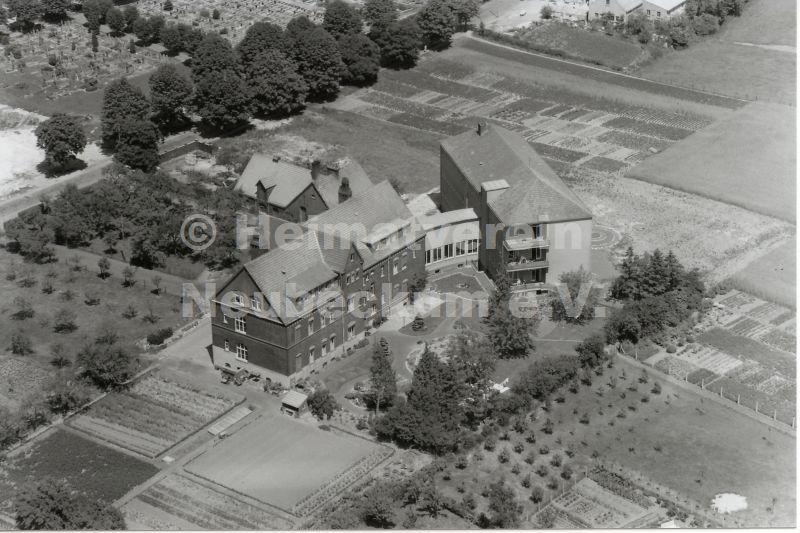 Luftaufnahme Krankenhaus 1960