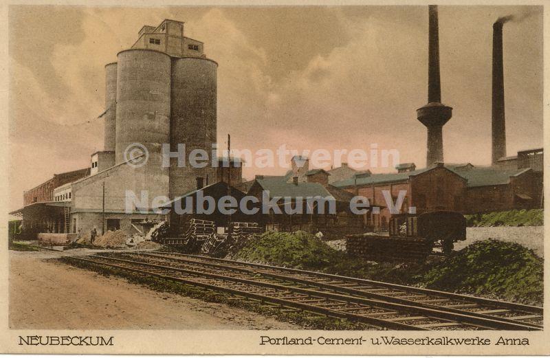 Zementwerke Anna Zement 1930