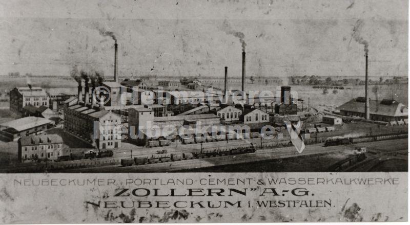 Zementwerke Zollern 1922