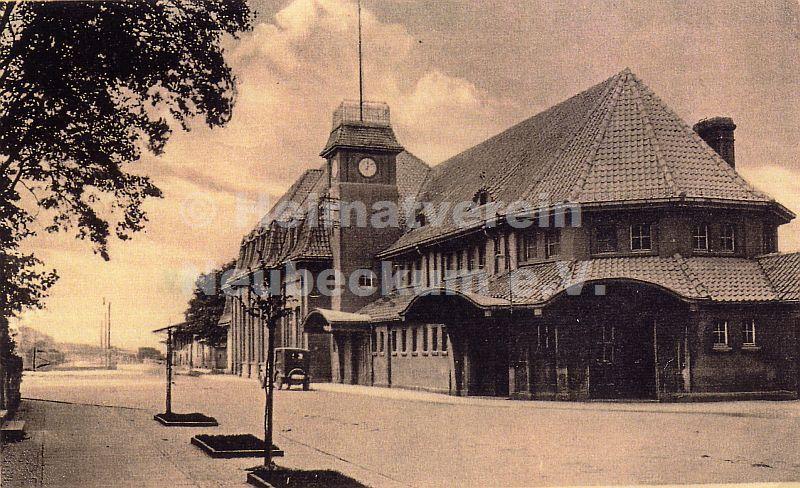 Bahnhof ca 1930