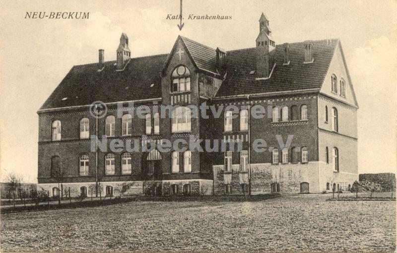 Krankenhaus 1907